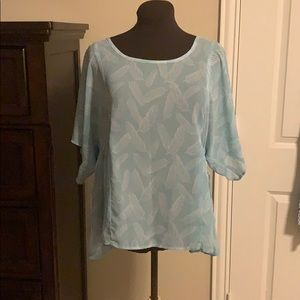 Torrid feather top. Size 1